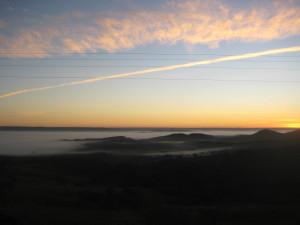 First Sunrise--Abadiania