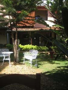 Garden  Area at the Pousada